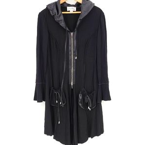 Joseph Rinkoff Light Long Hodded Cardigan